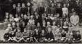 School photograph c1949-50 with names